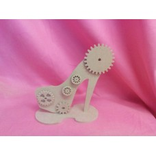 4mm MDF Steampunk standing shoe